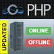 PHP Server Monitor - System Online Status Checker